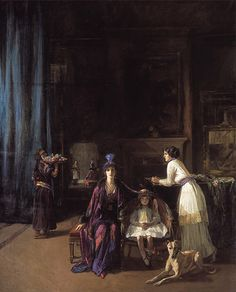 John Lavery's The Artist's Studio    would love to see this painting