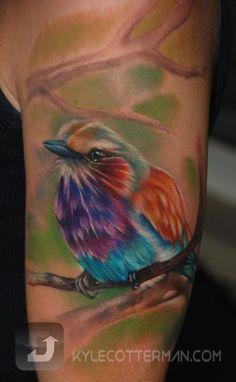 #Tattoo by Kyle Cotterman see more #tattoos at www.freshlyinkedm... #Inkedmag.com