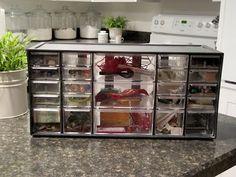 hardware storage drawers