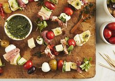 Antipasto Skewers ma