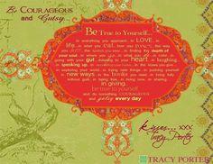 Tracy Porter inspiration