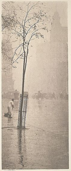 Spring Showers, New York I Alfred Stieglitz