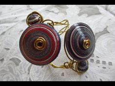diy bead, jewelri tutori, video jewelri, youtub tutori, papers, bead cuff, cuffs, paper beads