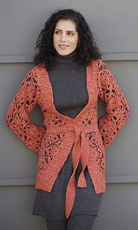I love the openwork lace of this cardigan. Crochet Lace for Summer - How to Crochet - Blogs - Crochet Me