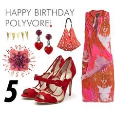 Happy Birthday Polyvore, created by leiastyle on Polyvore
