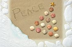 Peaceful Shore Embossed Christmas Cards