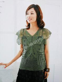 Blusa de Crochet