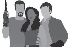 Big Damn Heroes 8x10 Firefly poster in grey by secretalice on Etsy, $20.00