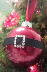 DIY Santa Ornament