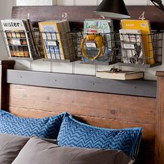 Wood And Wire Wall Multi Basket #potterybarnteen