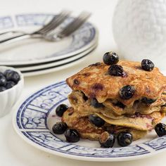 Gluten free Blueberry Almond Pancakes and more recipes perfect for Advocare Cleanse