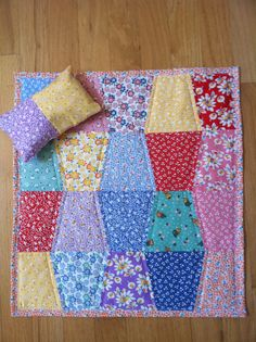 Doll Blanket and Pillow