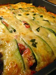 How to make Low Carb Zucchini Lasagna with the secret trick to avoid a watery lasagna!