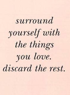 surround yourself wi