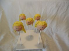 Cabbage Patch Cake Pops