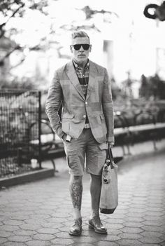 defo a babe in a beard - nick wooster