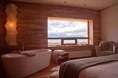 Room at the Tierra Patagonia -- Torres del Paine, Chile
