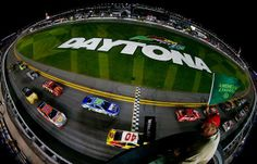 Hamlin Stays Undefeated as Wild Wreck Wraps Up Duel 2 | Fan4Racing  http://fan4racing.com/2014/02/20/hamlin-stays-undefeated-as-wild-wreck-wraps-up-duel-2/  Cars race past the green flag to start the NASCAR Sprint Cup Series Budweiser Duel 2 at Daytona International Speedway on February 20, 2014 ...