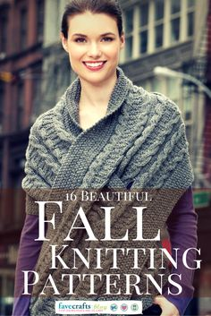 Get ready for cooler weather with these beautiful fall knits. Great for layering, mixing, and matching, these knit shawls, wraps, scarves, and sweaters will help transform your summer wardrobe into a cozy and comfortable one.