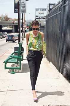 Bold Patterns pt. 4 // 51 Cute Work Outfits to Wear This Summer