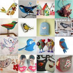 birds inspiration by dutch blue, via Flickr