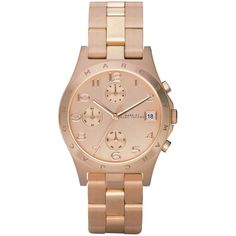 Marc by Marc Jacobs MBM3074 Henry Ladies Watch found on Polyvore