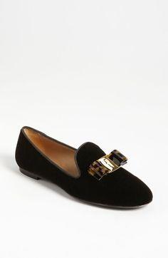 scotty smoking slipper loafer / salvatore ferragamo