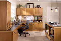 BKC Kitchen & Bath office: Mid Continent Cabinetry, Hartford door style