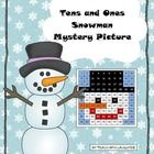 Students will enjoy this winter themed hundreds chart mystery picture activity. They won't realize they are practicing place value and numbers to 100.  Solve then color!