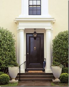 Black Entry Door