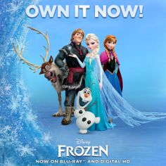 Today's the day to take Frozen home on Blu-ray Combo Pack and Digital HD: http://di.sn/iaL