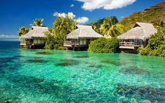 Beach Cottages, Tahiti