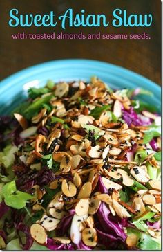 The best Asian salad ever! Seriously. You have to try this one AND it is sooooo easy.