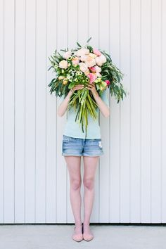 Giant 'Flower Blocked' Bouquet