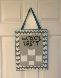 Personalized Birth Announcement Sign by SavvySweetBoutique on Etsy, $30.00