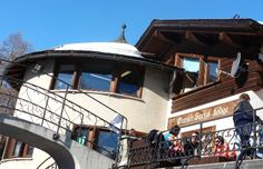 Gunter Sachs Lodge in St Moritz beside Olymic Bobsleigh Run #Switzerland