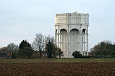 Pinchbeck Water Tower by P.A.King, via Flickr
