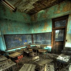 Abandoned school in ND - Ghosts of ND