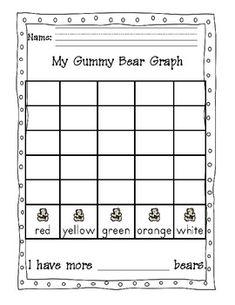 Gummy Bear Sort and Graph