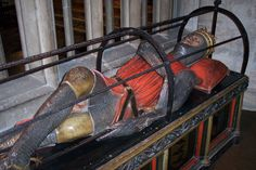Tomb of Robert Curthose, William the Conqueror's eldest son.
