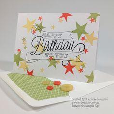 One Layer Happy Birthday - PPA199