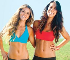 8 whole body toning workouts - love these girls! Their website has so many clean eating recipes and their workout video is so easy and effective!