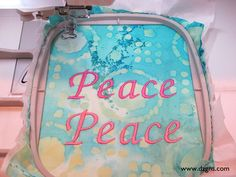 Eileen's Machine Embroidery Blog, what's on your bucket list for machine embroidery