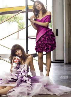 Jennifer Garner & Jessica Biel - Marie Claire