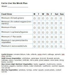 eat to live 6 week plan pdf