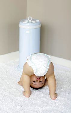 Enter to #win an Ubbi Diaper Pail ($80 value) in the color of your choice! #giveaway #contest