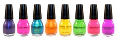 "I must own most of the ""Sinful Colors"" nail polish. Only 1.99 and usually on sale for 99 cents @ Walgreens!"