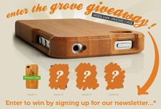 iPhone Case – Bamboo – by Grove #grovegiveaway