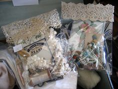 little packets of vintage goodies
