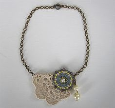 diy Anthropologie-inspired necklace